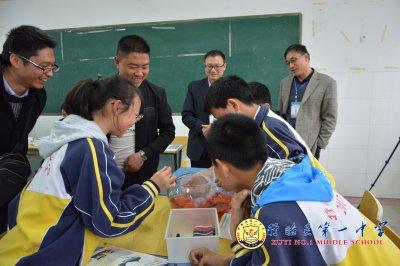 盱眙县第一中学成功举办2018年淮安市初中生物优课评比活动
